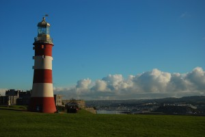 lighthouse in a sunny day